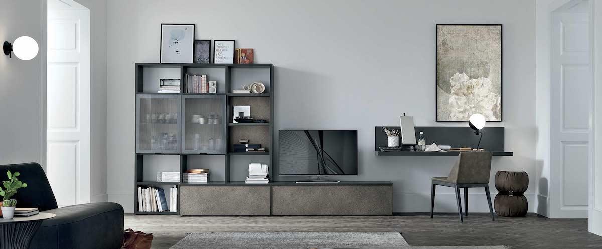 Soggiorno moderno - Composizione A129 - Tomasella